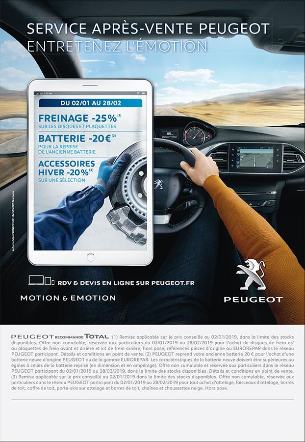 Votre Garage Peugeot A Montbrison